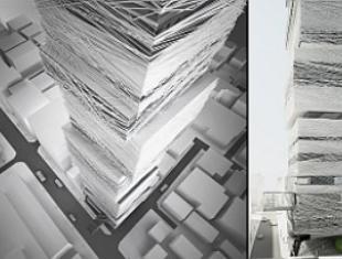 Wertykalne muzeum mody w Tokio. Projekt pracowni architektonicznej MUS Architects wyróżniony