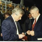 Od lewej: Andrzej Fajans, Andrzej Szyszko. Na drugim planie Andrzej Bulanda