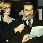 Od lewej: Iwona Schymalla, Marek Nowakowski