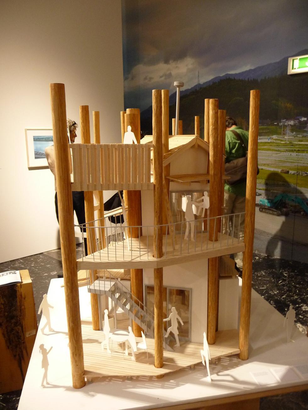 Wystawa w pawilonie japońskim, Wenecja 2012