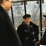 Od lewej: jurorzy Jacek Cybis, Stefan Kuryłowicz, Stanisław Fiszer