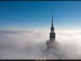 Złota 44. Widok z wieżowca Daniela Libeskinda