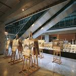 Wystawa pokonkursowa konkursu ŻYCIE W ARCHITEKTURZE 1989-1999. Projekt aranżacji wystawy: Jacek Oryl, Aneta Błażej