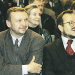 Od lewej: Jerzy Grochulski, Sławomir Najniger
