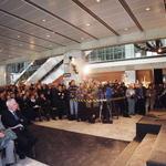 W pierwszym rzędzie od lewej: Prezes Urzędu Mieszkalnictwa i Rozwoju Miast Sławomir Najniger, prezes Zarządu Głównego SARP Krzysztof Chwalibóg, Ambasador Irlandii Patrick MacCabe