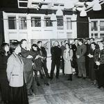 Otwarcie ceremonii wręczenia nagród w katowickiej edycji konkursu ŻYCIE W ARCHITEKTURZE - 10.12.1999