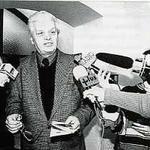 Olgierd Olszewski, prezes lubelskiego oddziału SARP. SalaTrybunału Koronnego przy rynku Starego Miasta w Lublinie