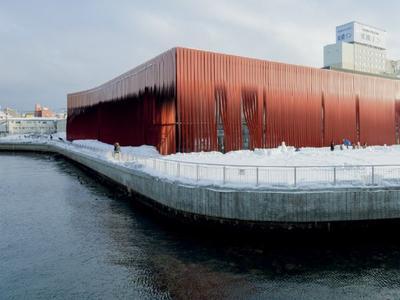 Muzeum Nebuta wAomori: wiatr zapisany w stalowej konstrukcji