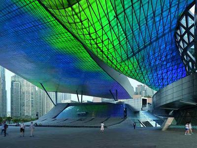 Centrum filmowe w Pusan projektu Coop Himmelb(l)au