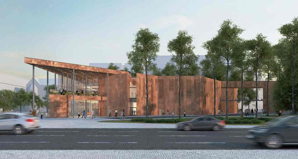 Centrum Dziedzictwa Historycznego Miasta Gdańska, proj. Studio Architektoniczne Kwadrat
