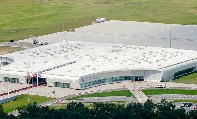 Terminal pasażerski Portu Lotniczego Lublin w Świdniku