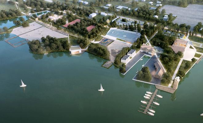 Koncepcja przestrzennego i ekologicznego zagospodarowania zbiornika retencyjnego w miejscowości Szałe