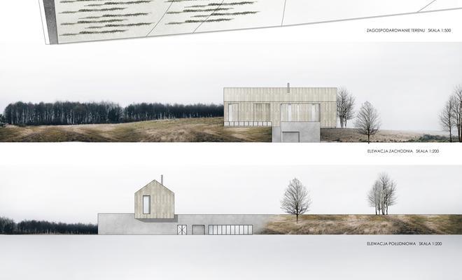 Dom Trójpokoleniowy z Winiarnią w Kalnej