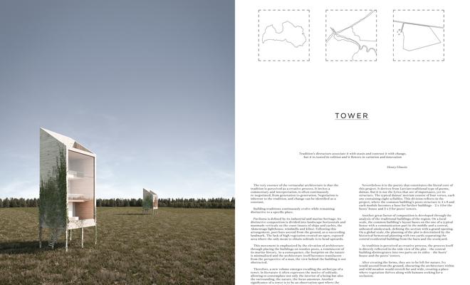Tower – domy dla poetów w Paviloście