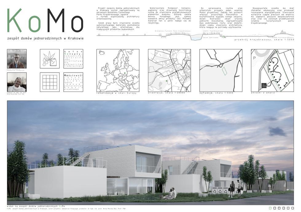 KoMo - zespół domów w Krakowie