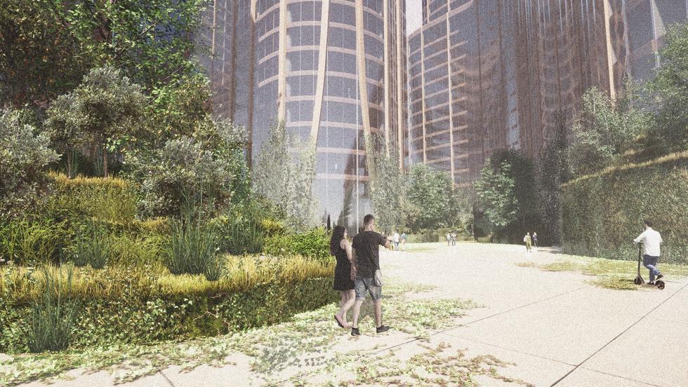 Detroit Revival, kompleks wielofunkcyjny